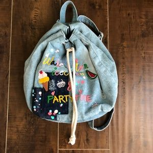 Zara girls mini backpack